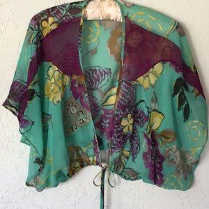 ETRO Silk jacket or shawl